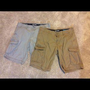 Men's Cargo shorts size 36 Flexwear